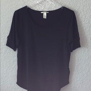 H&M basic scoop neck tee shirt